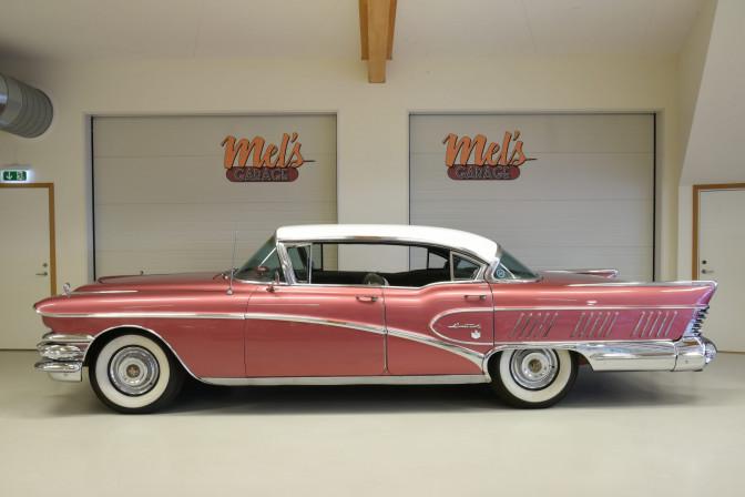 SÅLD! Buick Limited 4-dr HT Modell 750 1958