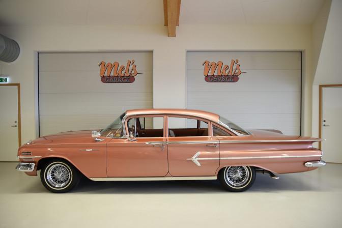 SÅLD! Chevrolet Bel Air 4-dr Sedan 1960