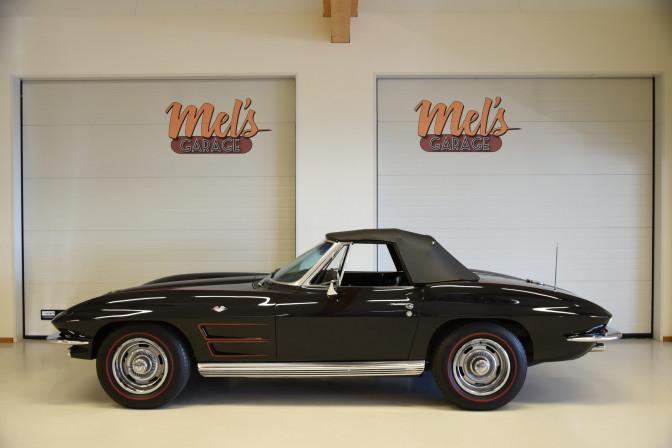 TILL SALU: Chevrolet Corvette Stingray Convertible C2 1964