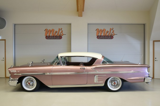 TILL SALU: Chevrolet Bel Air Impala Sport Coupe 2-dr ht 1958