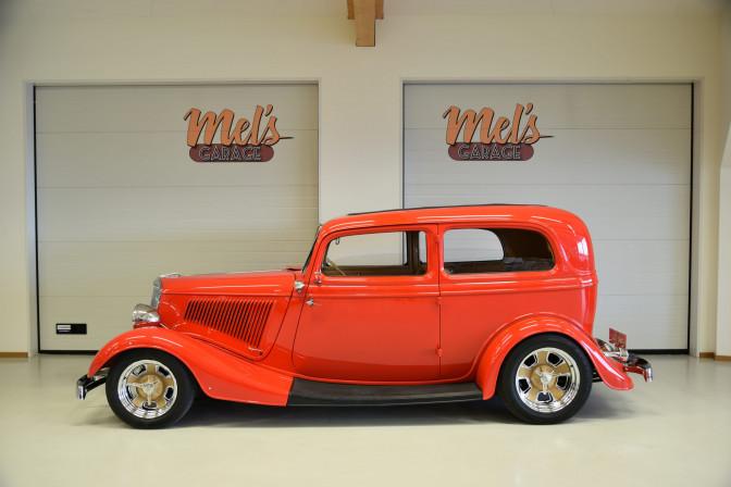 SÅLD! Ford Tudor 1934 Real Henry Steel