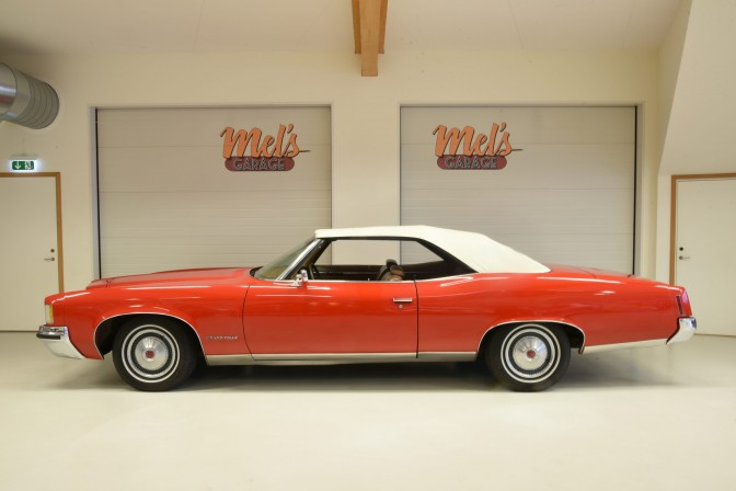 SÅLD! Pontiac Grand Ville Convertible 1971
