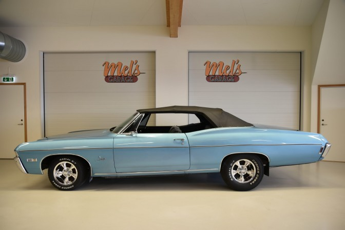 SÅLD! Chevrolet Impala Convertible 1968