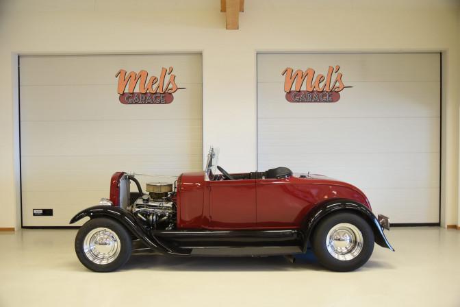 TILL SALU: Ford Roadster 1929 med Cab och besiktningsbefriad
