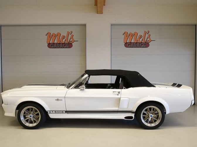 TILL SALU: Ford Mustang Convertible Shelby GT 500 Eleanor Clone 1968