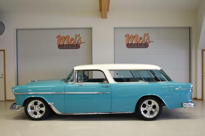SÅLD! Chevrolet Bel Air Nomad 1955