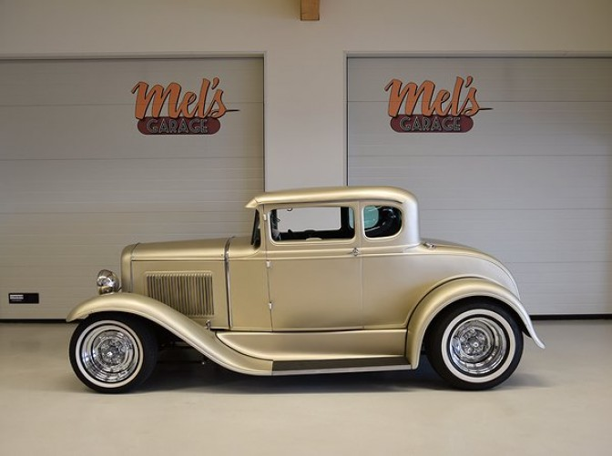 SÅLD! Ford 5W Coupe 1931 Real Henry Steel