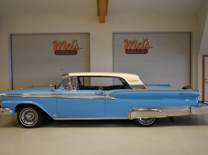 TILL SALU: Ford Galaxie 2-DR HT Club Victoria 65A 1959