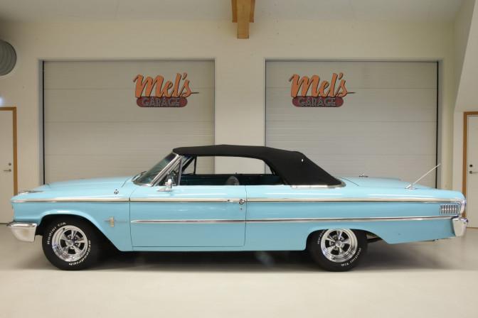 TILL SALU: Ford Galaxie 500 Convertible 1963